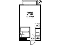 メゾン・ド・ノア錦町[2階]の間取り