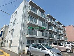 北海道札幌市東区北二十二条東1丁目の賃貸マンションの外観