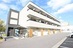 茨城県つくば市東新井の賃貸マンションの外観
