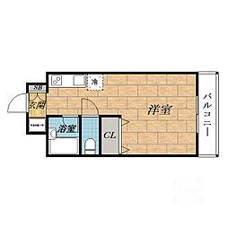ラヴェールミナミ[3階]の間取り