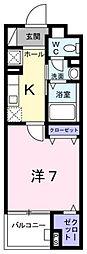 セレノ・コリーナ・ダイマチ[305号室]の間取り