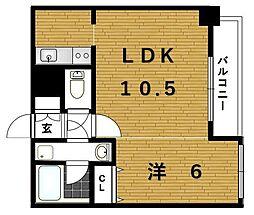 ブランスタイル博多[15階]の間取り