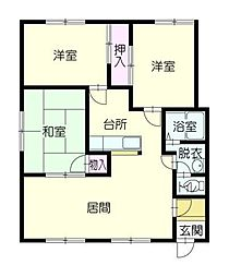 ファミール415[2階]の間取り