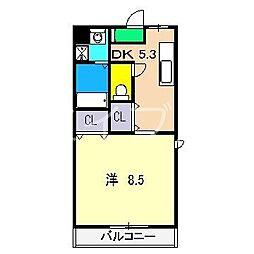 ピープルハウスII[2階]の間取り
