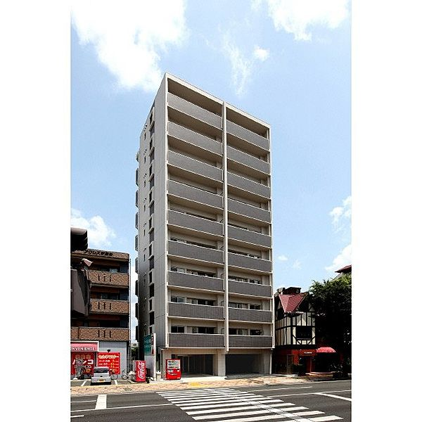 熊本県熊本市中央区新屋敷3丁目の賃貸マンション