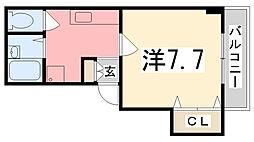 クレアトゥールOTUKA[306号室]の間取り