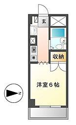 ANNEX池下(アネックスイケシタ)[3階]の間取り