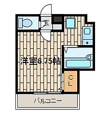 シティハイツ相模大野[2階]の間取り
