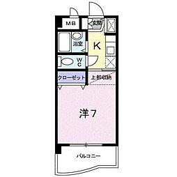 A・LA・MODO[4階]の間取り