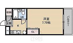 高倉マンション[3階]の間取り