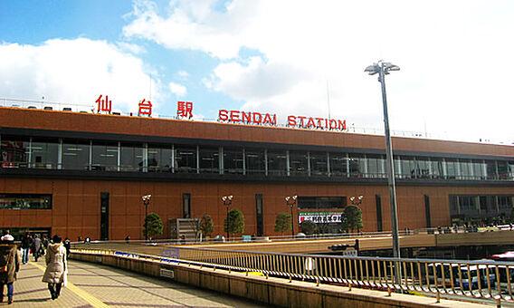 仙台駅640m