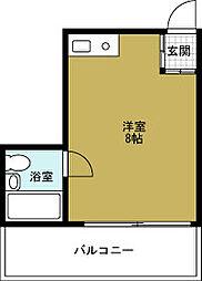 デイズハイツ三先[1階]の間取り