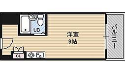 ビジネス新大阪[3階]の間取り