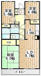 エスポワール平田[4階]の間取り