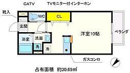 MYTハイツ2[2階]の間取り