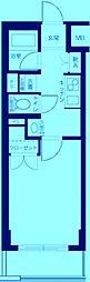 エクセリア二子多摩川II[1階]の間取り