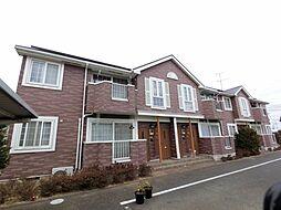 千葉県旭市ニの賃貸アパートの外観