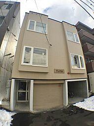 北海道札幌市中央区南三条西22丁目の賃貸アパートの外観