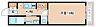 間取り,1K,面積24.36m2,賃料5.8万円,神戸市西神・山手線 長田駅 徒歩4分,神戸高速東西線 高速長田駅 徒歩5分,兵庫県神戸市長田区大塚町1丁目