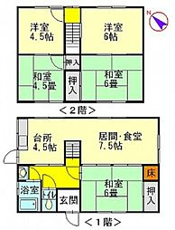 [一戸建] 広島県広島市西区高須1丁目 の賃貸【/】の間取り