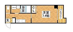 S-RESIDENCE新大阪WEST[5階]の間取り