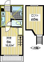 リヴァージュ[1階]の間取り