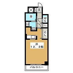 アルドール白石[6階]の間取り