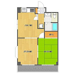 MATSUSHITA maison[303号室]の間取り