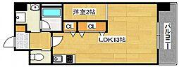 DiasII 鶴見6丁目新築[503号室号室]の間取り