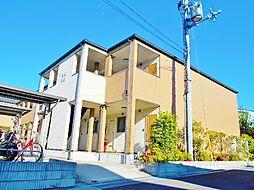大阪府堺市中区楢葉の賃貸アパートの外観