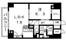 セントヒルズ[9階]の間取り