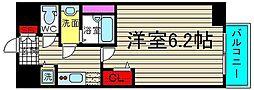 ファステート大阪ドームシティ[6階]の間取り