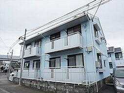 静岡県浜松市中区八幡町の賃貸アパートの外観