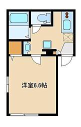 西武池袋線 東長崎駅 徒歩5分の賃貸マンション 3階1Kの間取り