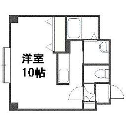 K・s Stage Asahimachi[606号室]の間取り