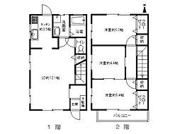 [テラスハウス] 香川県高松市木太町 の賃貸【/】の間取り