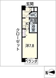 ASレジデンス千代田[8階]の間取り