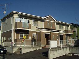 埼玉県東松山市沢口町の賃貸アパートの外観