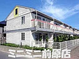 福岡県福岡市西区大字千里の賃貸アパートの外観