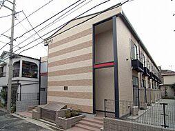 東京都葛飾区高砂8丁目の賃貸アパートの外観