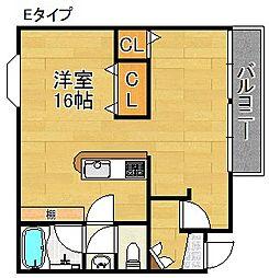 アベニュー中加賀屋[4階]の間取り