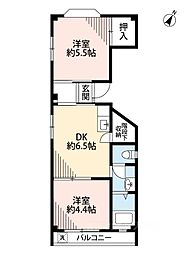 千島ビル[2階]の間取り