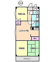 イプシロンC棟 311[3階]の間取り
