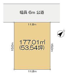 佐倉市王子台4丁目 駅まで歩ける住宅用地