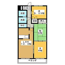Comfort21[7階]の間取り