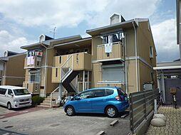 大阪府富田林市小金台1丁目の賃貸アパートの外観