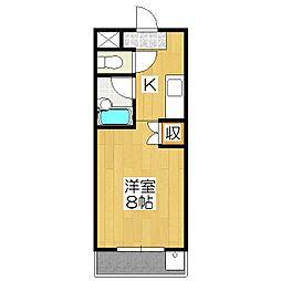 CASA TAKANO[203号室]の間取り