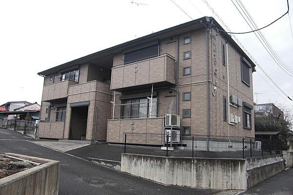 ベルハイツC[1階]の外観