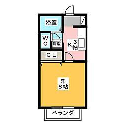 サン・friends郷前[2階]の間取り