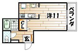 Fab Flat[1階]の間取り